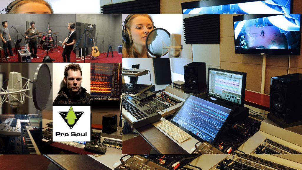 Pro Soul Studios, audio production, recording, dubbing and sound design